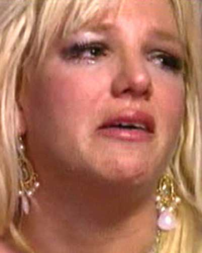 Don't cry too much - brit brit