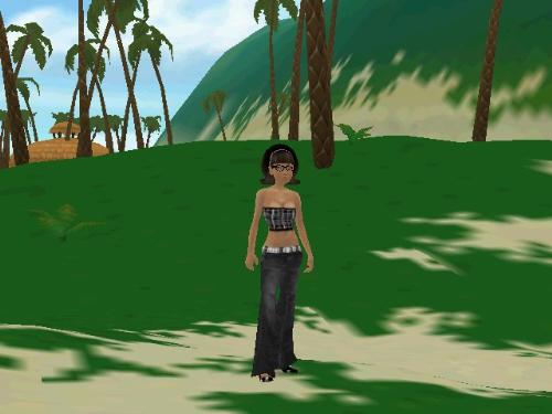 there.com avatar - This is me as FOXXEE in the virtual world!
