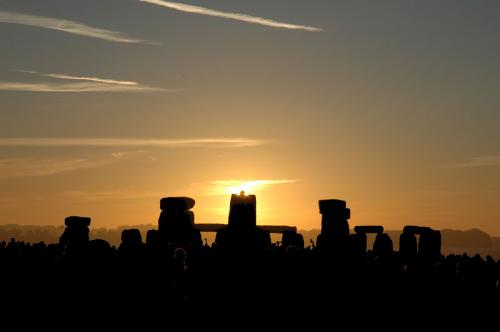 Stonehenge Summer Solstice Sunrise - Stonehenge on Lithia, Summer Solstice, Sunrise