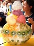 Giant combo ice cream - This not only big but huge,,,giant size!!!