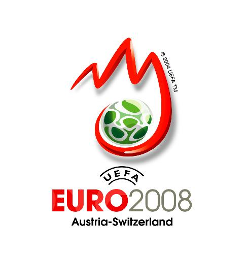 Euro 2008 - The UEFA Euro 2008 logo. Euro 2008 is a football competition in Europe between all countries and states of Europe. Holders of this competition are Greece which are already eleminated in the first kick-out leg this time.