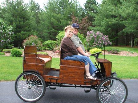 Horseless carriage - Hand made horseless carriage