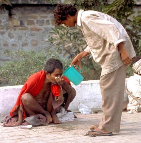 Helping someone!! - Helping others should be our motto.
