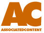 Associated Content - Writing Site - This is the logo for the writing website Associated Content (AC)