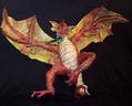 Paper Mache Dragon - The art of paper mache.