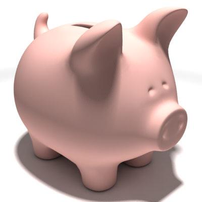 Piggy Bank - Cute Piggy Bank