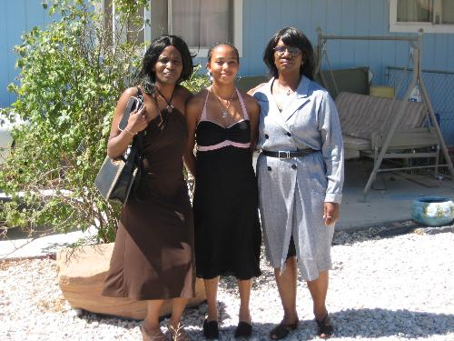 My 19 yr old daughterm myself, and my mother June  - mOTHER, DAUGHTER, AND HER DAUGHTER'S DAUGHTER