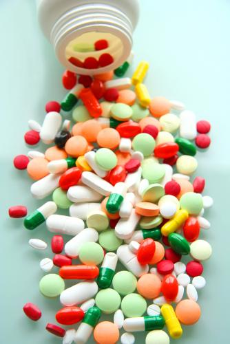 Say no to pain killers,if you can!! - Pain killers at the laboratory.Its harmful.