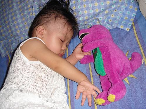 Beside Barney - Sleeping Time