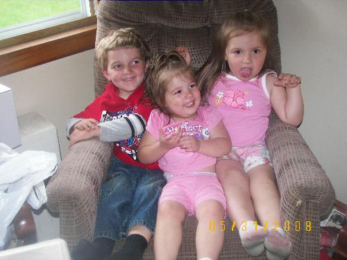 3 children - they are all growing up so quick