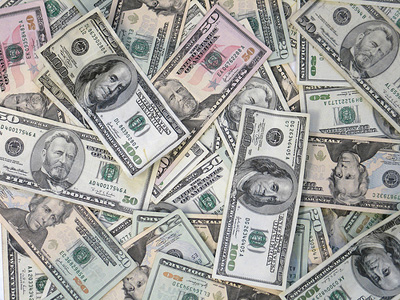 Picture of money - money, picture of hundred dollar bills