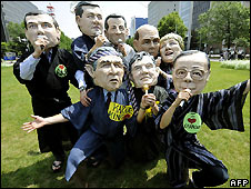 G8 Protest in Japan - What do they gain?