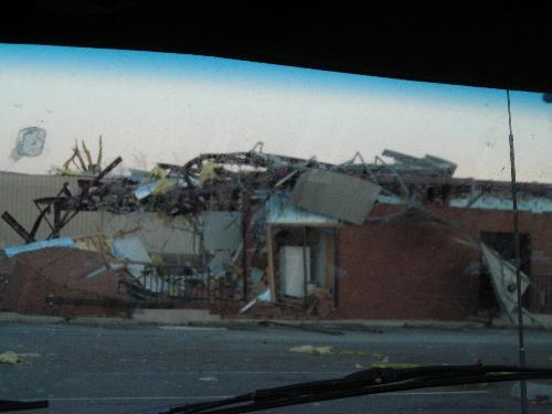 tornado damage - americus, georgia march 5, 2007