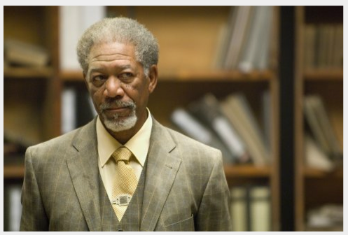 Morgan Freeman - Scene from the movie Wanted