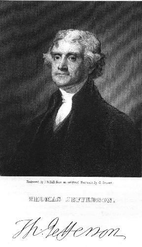Thomas Jefferson - One of the Founding Fathers of the United States and author of the Declaration of Independence!
