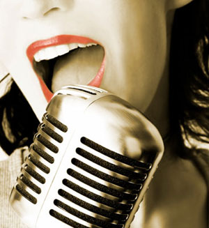 voice of a singer - this is a voice of a singer