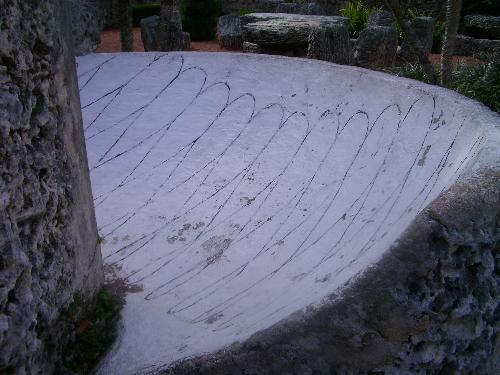 Coral Castle - This is a sun dial that was used to tell time