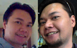 beard or not - me with beard and without