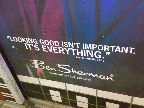 """Ben Sherman Clothing at Carnaby Street - """"Looking good is important, It's everything."""""""
