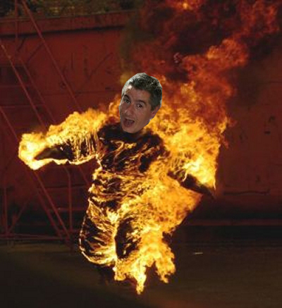 i finally achieved my burning ambition........... - jbdz p hduhu ureh ueagh reh rhprhr