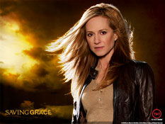 Saving Grace - This is a photo of Holly Hunter from the TNT show Saving Grace