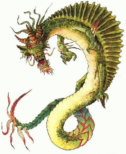 chinese dragon - chinese dragon taking control over market