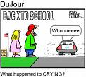 back to school - yippee!