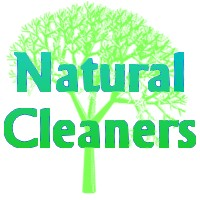 natural cleaners logo - This logo is blue and green to represent the earth and how we must remember to protect it as we go about our daily tasks.