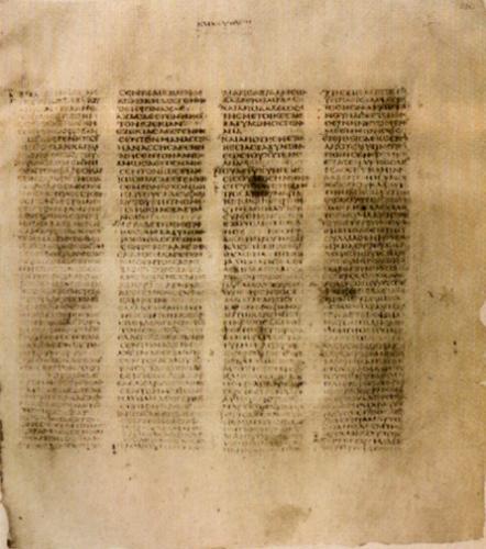 Oldest Copy of the New Testament-Codex Sinaiticus - Codex Sinaiticus