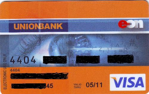 eon card from unionbank - me new eon card