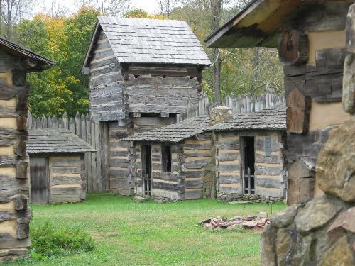 Prickets Fort In West Virginia - Prickets Fort is in Fairmont West Virginia