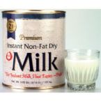 powdered milk - the first one in my list