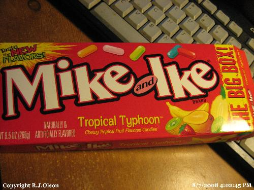 Mike and Ikes - One of my fave and now a new blend as well.