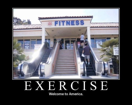 Excercise - Going to the gym..