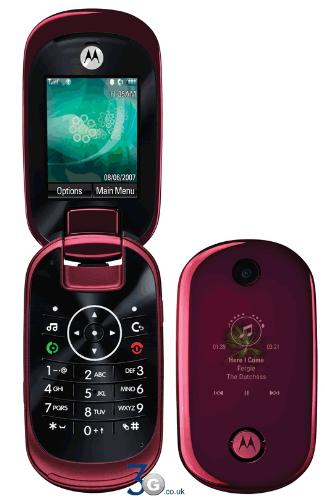 Motorola U9 cell phone - I have bought a new cell phone to my wife it is Motorola U9.