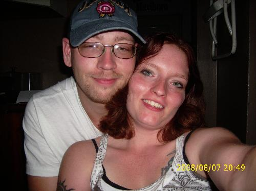 me and aaron - This is my sweetie!