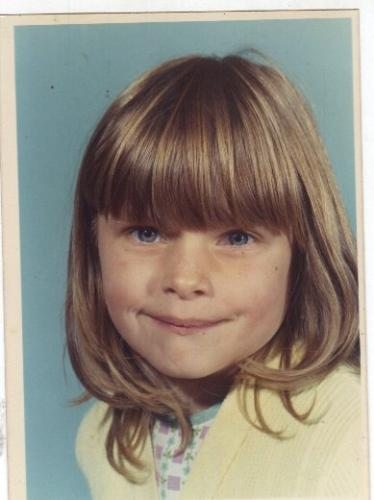 me as little girl - photo of me when i was little child