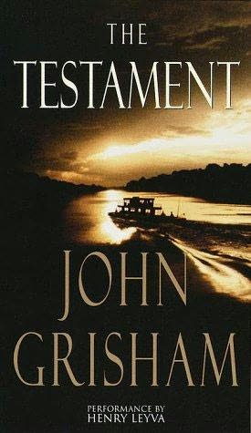 cover page - The Testament written by John Grisham