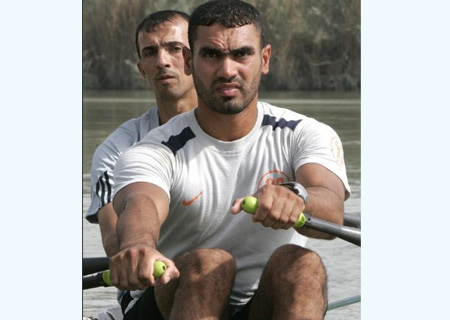 Iraq Athletes In Beijing Olympic Games - Iraq athletes in Beijing Olympic games.