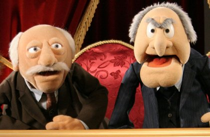 muppets old men quotes quotesgram. Black Bedroom Furniture Sets. Home Design Ideas
