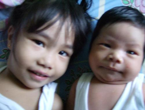 my son and daughter - my beloved daughter and son