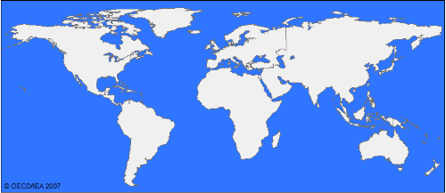 world - the complete world map