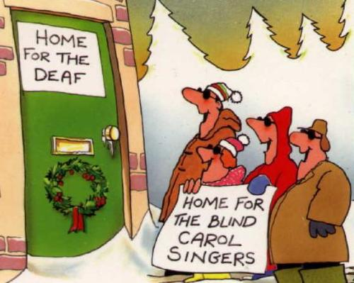 deaf and blind - the deaf and blind cartoon
