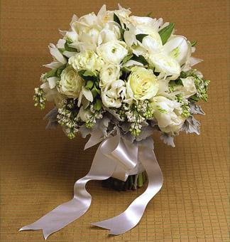Bride - This is my bridal bouquet.
