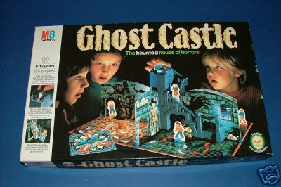 Ghost Castle - One of the best board games ever! Ghost Castle!