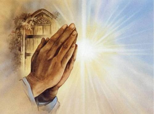 prayer - prayer is essential to our lives. it connects us to the Maker...