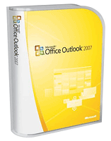 Microsoft outlook 2007 - a photo of outlook 2007