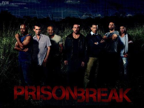 Prison Break - The TV Series Prison Break. My favorite TV series.