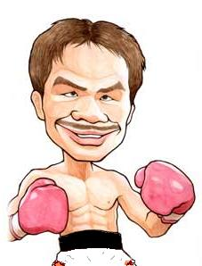 manny pacquiao caricature - Got this one from his blog!