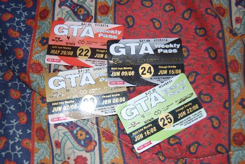GTA Pass - Weekly Pass